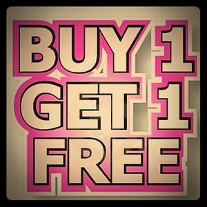 All items $6 or less are buy one get one free!